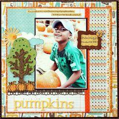 Picking Pumpkins *Scrapbooking