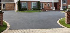 tarmac n block paving - cheap solution