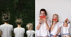 Mother Of Two Takes Adorable Photos Of Herself And Her Daughters In Matching Clothing   Bored Panda