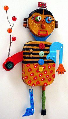 cute clown/robot