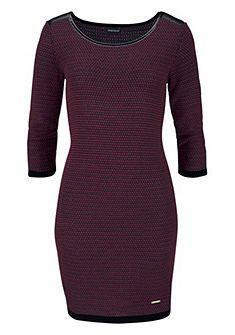 BRUNO BANANI Tricot-jurk in aansluitend model