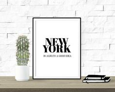 New York is Always a Good Idea Calidad Premium  por MyNameIsMir