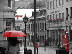 Old port Montreal, Canada, on a rainy day! Old Port, Montreal Canada, Concrete Jungle, Rainy Days, Amazing Places, Red Color, Mists, The Good Place, Eye Candy