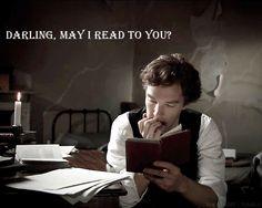 Hello Darling / British Hey Girl - Benedict Cumberbatch