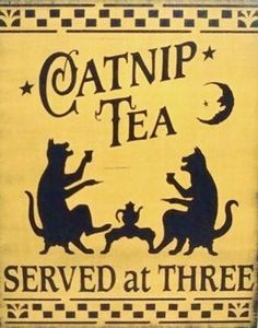 Catnip Tea Served at Three