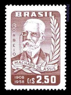 brasil 1958 novo // escritor machado de assis