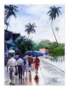 After the rain | Watercolor | Flickr - Photo Sharing!