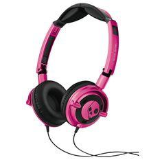 Skullcandy headphones. Cool!