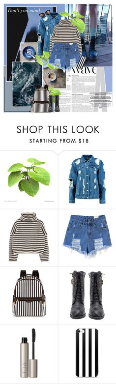 """""""Untitled #848"""" by mary-elizabeth-x ❤ liked on Polyvore featuring Anja, Boohoo, Henri Bendel and Ilia"""