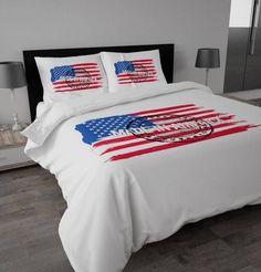Dekbedovertrek Made in America van Sleeptime.