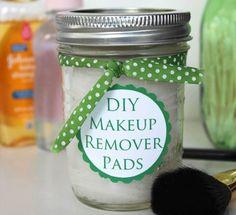 DIY makeup remover pads....