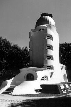 Einstein Tower designed by Eric Mendelson ~ Potsdam 1924