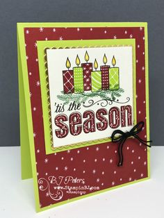 Merry Patterns from Stampin' Up! Check out the video!   www.stampinBJ.com