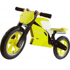 Kiddimoto Superbike yellow white