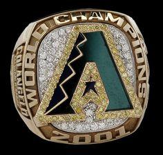 2001 World Series Ring   Arizona Diamondbacks