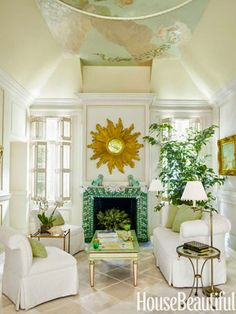 The Glam Pad: Mimi McMakin Decorates a Palm Beach Maisonette
