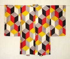 Textile Design - Japanese Modern Design Kimono