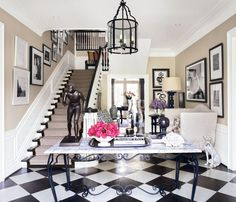 Traditional Staircase/Hallway in Los Angeles, California