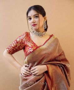 Indian Fashion Modern, Latest Indian Fashion Trends, Indian Dresses, Indian Outfits, Saree Blouse Neck Designs, Bridal Blouse Designs, Blouse Patterns, Saree Trends, Stylish Sarees