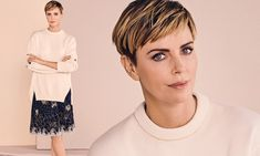 Charlize Theron enjoys the 'pure panic' of producing as she gears up for the release of Bombshell Andrea Tantaros, Rob Delaney, John Lithgow, Top Producer, Megyn Kelly, Kate Mckinnon, Christina Ricci, The Hollywood Reporter, Margot Robbie