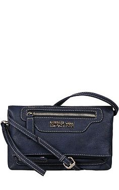 Kenneth Cole Reaction Signal Faux-Leather Mini Crossbody