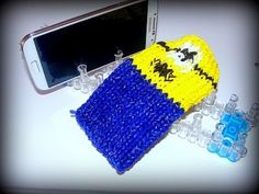 Minion Handyhülle, Smartphone-Hülle mit Loom Bands und Rainbow Loom deutsch - YouTube