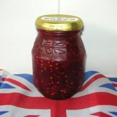 Rhubarb and raspberry jam