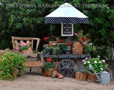 Love this vignette and display--modify for the front porch.