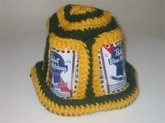 Horror of Horrors! One of the nastiest things bloggers have to deal with is the disappearance of past links. My eternal thanks go out to Amy for letting me know about the disappearance of the Beer Can Hat Pattern Link...