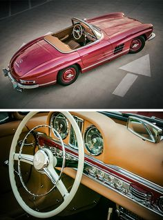 Throwback: The Mercedes-Benz 1957 SL. Now that's a classic!