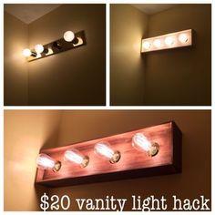 Vanity Light Refresh Kit 38 Lowes Apartments Bathroom Bathroom Lighting Vanity Lighting