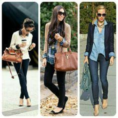 #winter #fashion #denim