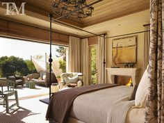 country retreat bedroom by tucker and marks design