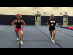 song: This Is What You Came For by Calvin Harris Cheerleading Tryouts, Cheerleading Videos, Cheer Stunts, Cheerleading Exercises, Youth Cheer, Cheer Camp, Cheer Coaches, Cheer Dance Routines, Cheer Moves