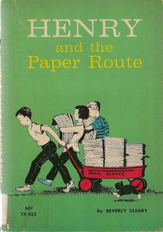 Henry and the Paper Route by Beverly Cleary. If you're reading all the Henry Huggins/Ramona books in order, this one is fifth!