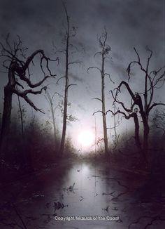 Unhinged Swamp by John Avon