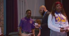 New Orleans principal pays students with 4.0 cash and hands out varsity jackets and patches to outstanding students high GPA's to treat academia as a sport. Nearly 400 students in the school ended up being honored for having GPA of at least 3.5