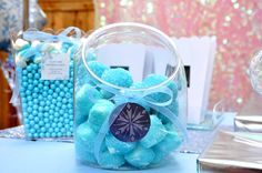 Party Like a Princess | Frozen birthday decorations, Frozen table ...