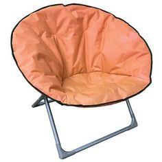 Stolička LEQ LEON, oranžová, skladacia, 82x82x75 cm, Oxford 600D Oxford, Chair, Furniture, Home Decor, Decoration Home, Room Decor, Home Furnishings, Stool, Home Interior Design