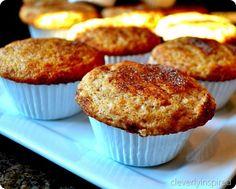 cinnamon toast muffins - easy @Becca can I borrow a muffin pan?. Please?