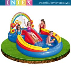 1000 images about piscinas hinchables on pinterest for Tobogan piscina ninos