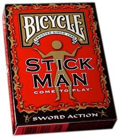 Bicycle Stickman Playing Cards - List price: $3.99 Price: $2.95 Saving: $1.04 (26%) Stick Man, Bicycle Playing Cards, Deck Of Cards, Games, Gaming, Plays, Game, Toys