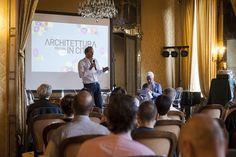 Il presidente dell'Ordine degli Architetti di Torino Massimo Giuntoli durante il primo appuntamento di Architettura in Città LAB #AiC2016 #ascolto © Edoardo Piva