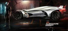 Alienware Concept - Car Body Design