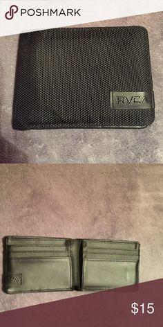 NWOT RVCA wallet for men Black rvca wallet RVCA Bags Wallets