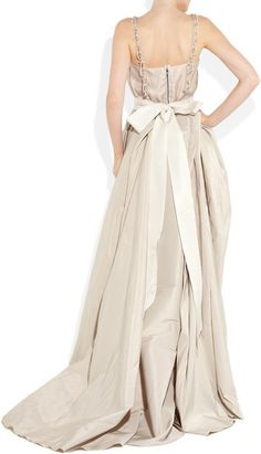 Wedding Dress: Lanvin's show-stopping taffeta and liquid silk gown
