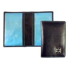 Buy TYLER & TYLER Union Jack Card Holder, Black Online at johnlewis.com