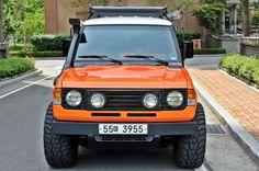 판매차량: 갤로퍼 롱바디터보 엑시드 6인승 완벽한 내외관 풀튜닝차량연식/색상: 1993/오렌지미션/주행거리...