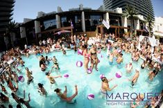 An insider's guide to the top pool parties at Las Vegas hotels, including Rehab Pool Party, Foxtail Pool Club and Wet Republic, at locations including Hard Rock Hotel, The Cosmopolitan and MGM Grand. Las Vegas City, Las Vegas Hotels, Las Vegas Strip, Las Vegas Nevada, Rehab Pool Party, Win Casino, Australia Travel, Hotels And Resorts, Night Life
