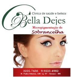 Bella Dejes: Venha transformar seu olhar com a sobrancelha defi...